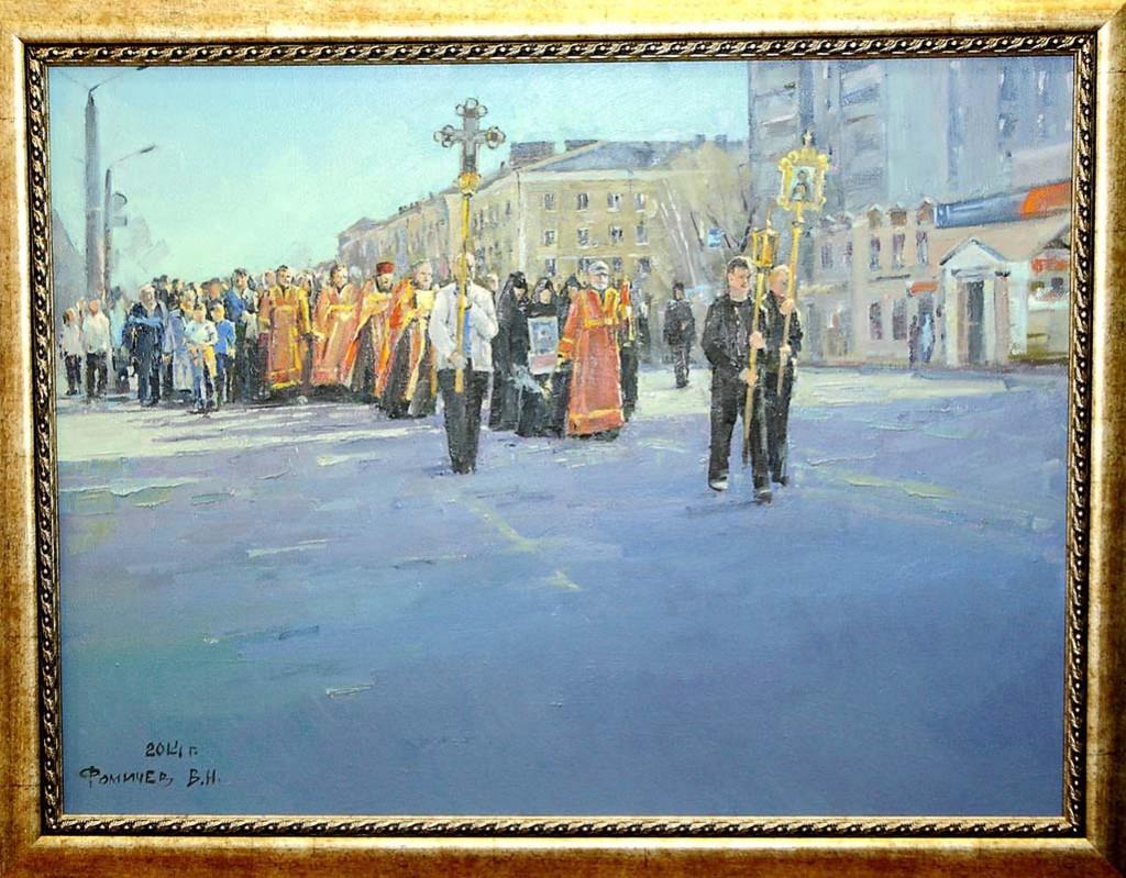 Ежегодная осенняя выставка ковровских художников 18.10.2014г 01