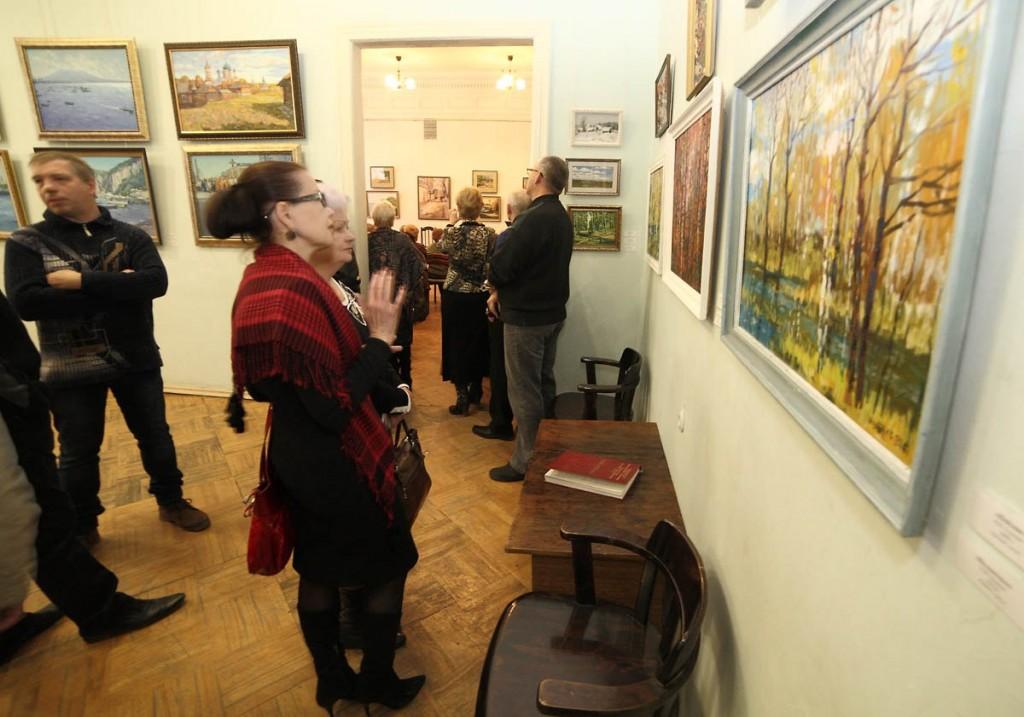 Ежегодная осенняя выставка ковровских художников 18.10.2014г 02