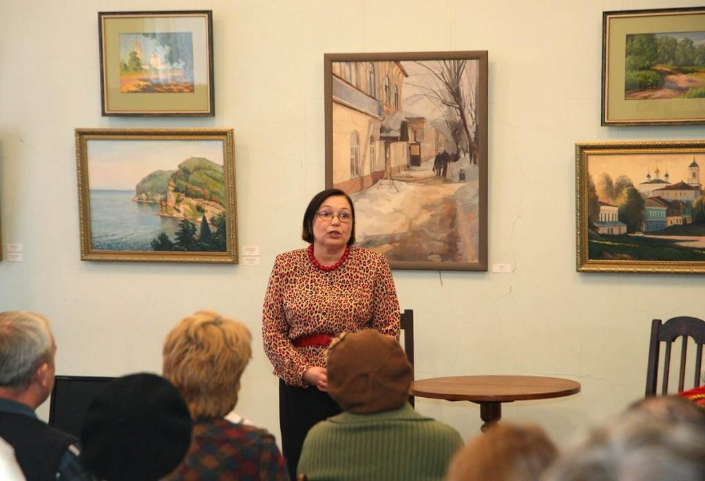 Ежегодная осенняя выставка ковровских художников 18.10.2014г 04