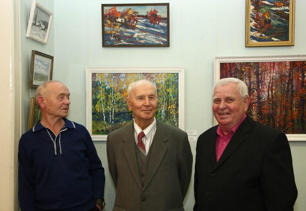 Ежегодная осенняя выставка ковровских художников 18.10.2014г 08