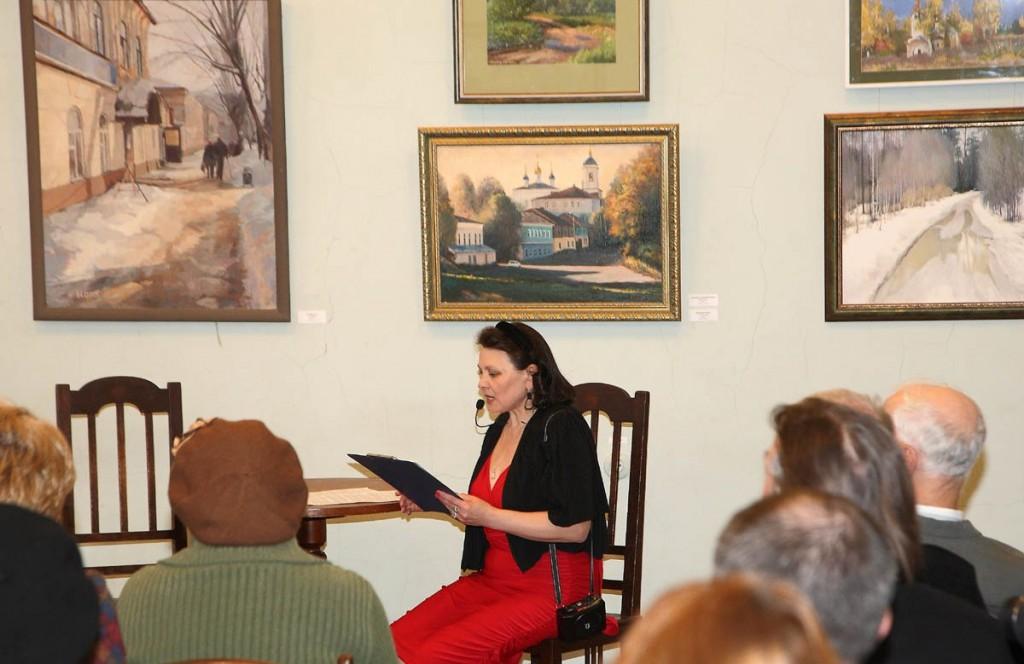 Ежегодная осенняя выставка ковровских художников 18.10.2014г 09