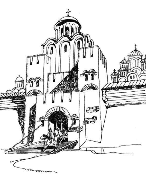 Легенда Серебряных ворот