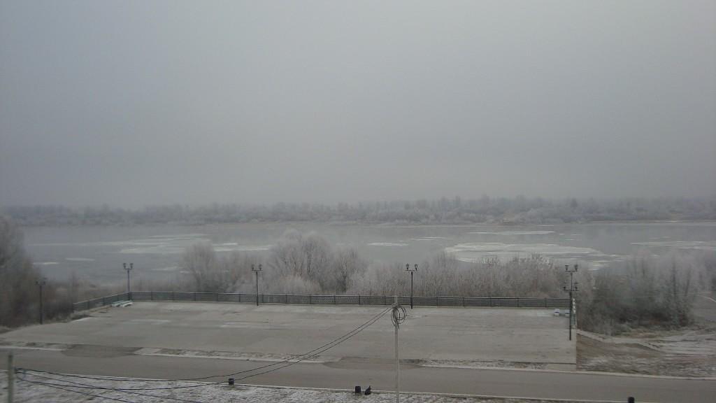 Очень морозный Муром. Осенний ледоход 20