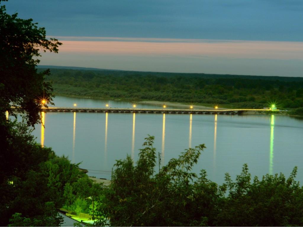 Понтонный мост Мурома