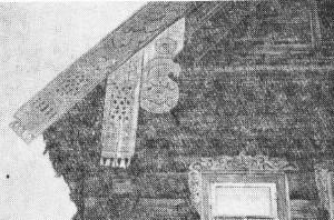 Фрагмент дома XIX в. (Гороховецкий район)