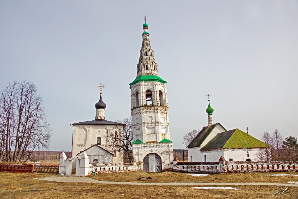 Церковь Бориса и Глеба (с. Кидекша Суздальский район). Фотограф - Сергей Ершов