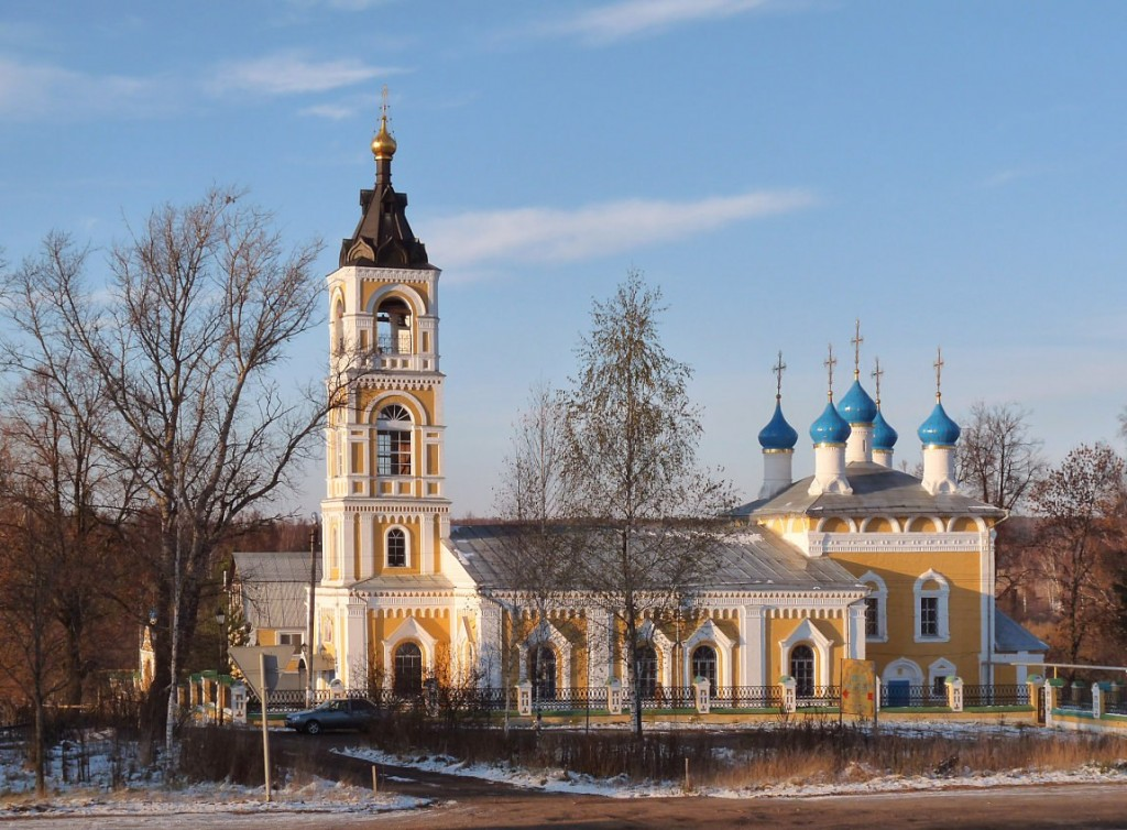 Церковь Казанской иконы Божьей Матери в городе Лакинске