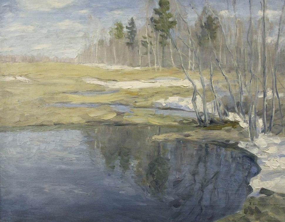 Бялыницкий-бируля - Ранняя весна