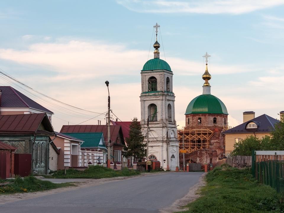 Троицкая церковь в Карачарово. Фотограф - Вячеслав Заикин