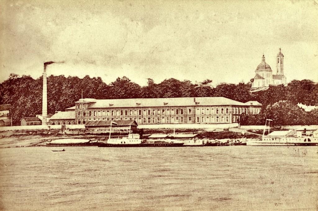 Бумаго-ткацкая фабрика в Муроме