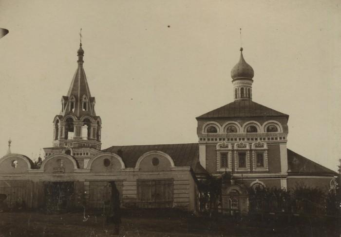 Николо-Зарядская церковь в Муроме. (Фото -1900-1910)  Фото из коллекции Муромского музея