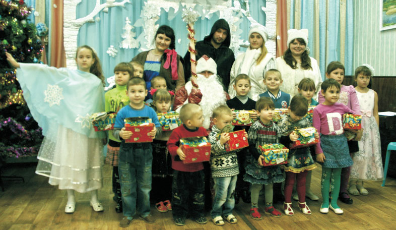 Новогодняя ёлка в Булатниково
