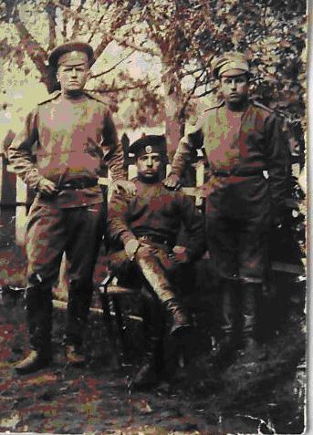 Стрелки 40-го Сибирского полка.