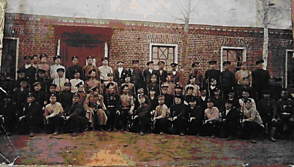 Учебные сборы ратников Государственного ополчения Александровской волости Судогодского уезда 1912 – 1913 годы.