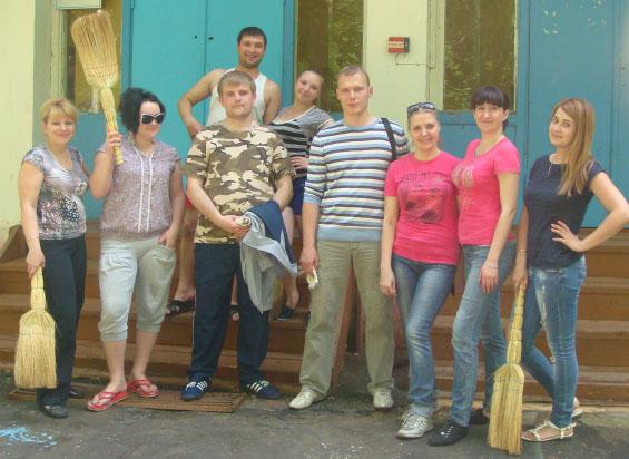 В лагере Спутник