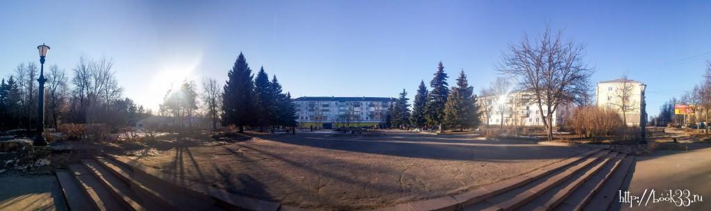 Площадь Прокуророва, реконструкция которой запланирована в ближайшее время