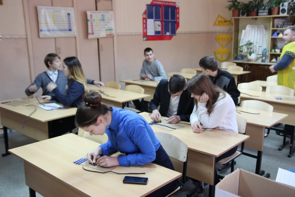 39 Игра-квест по профориентации для школьников 8-10 классов в школе 18 (Муром)
