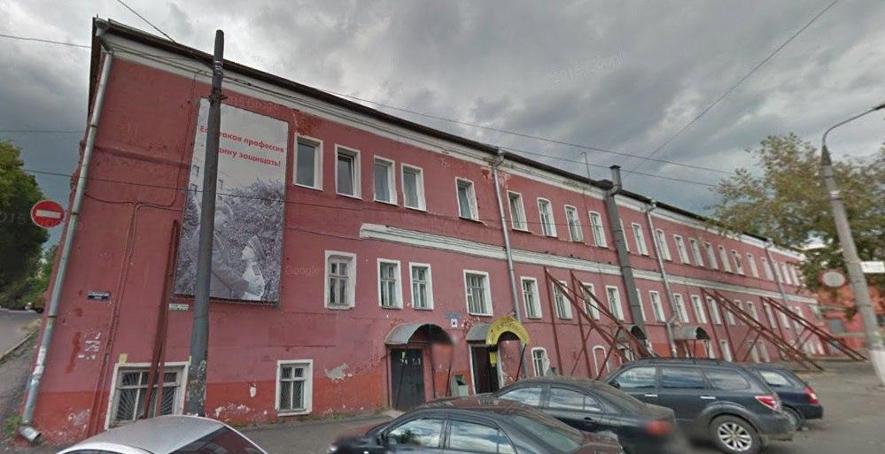 Здание Владимирского военкомата