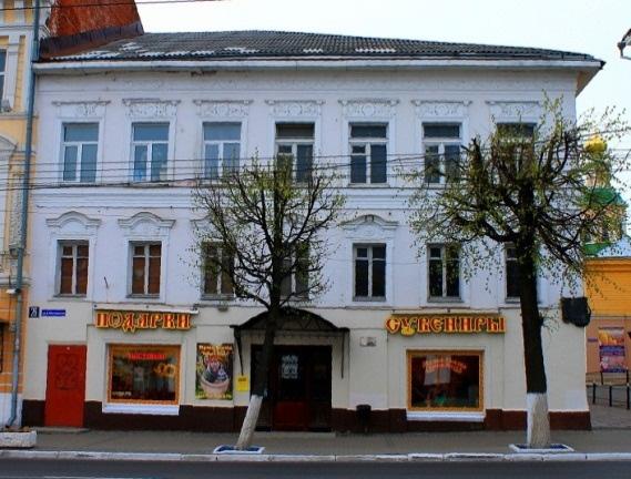 Дом №26 на улице Большая Московская в котором 1809 был размещенн Дворянский пансион.