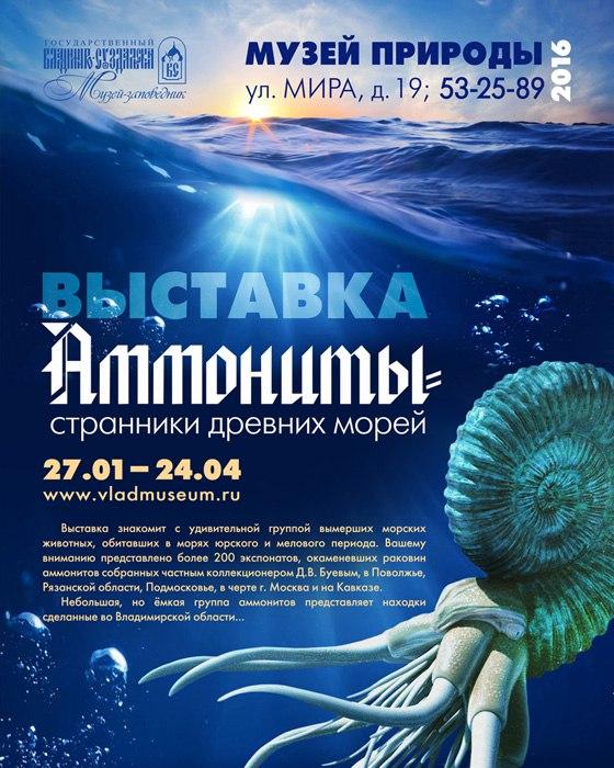 Аммониты – странники древних морей 01
