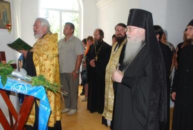 Визит митрополита Евлогия в июле 2013 года.