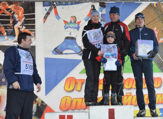 Лыжня России на Вербовском