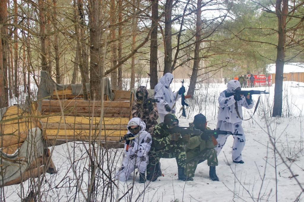 Открытые соревнования по военизированной игре в страйкбол в Киржаче 06