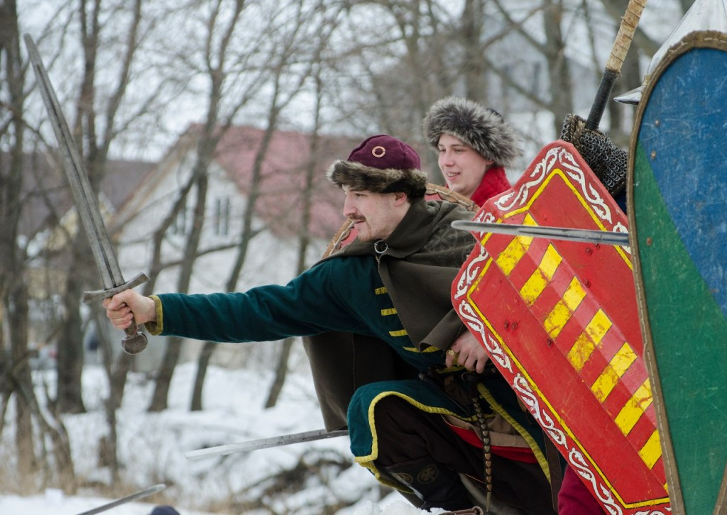 Реконструкция битвы татаро-монголов с русичами (ФОТО) 03