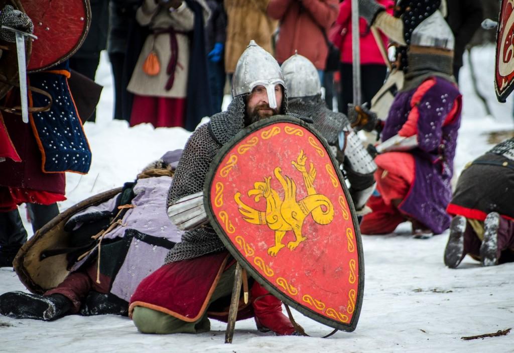 Реконструкция битвы татаро-монголов с русичами (ФОТО) 07