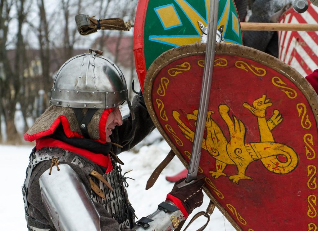 Реконструкция битвы татаро-монголов с русичами (ФОТО) 10