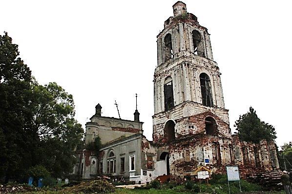 Храм Рождества Пресвятой Богородицы села Александрово 2012 год.