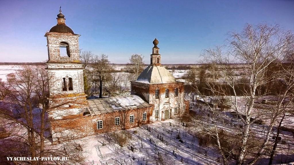 Церковь Николая Чудотворца на Кинешемском погосте 05