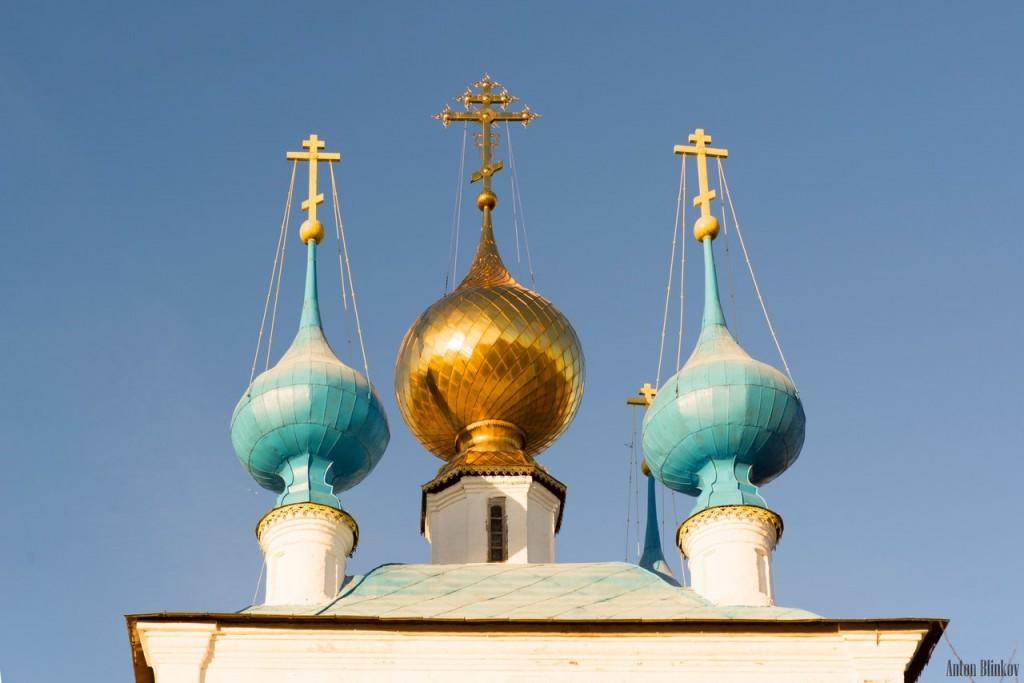Церковь Успения Пресвятой Богородицы и колокольня в пгт. Ставрово, Собинский р-н. 01