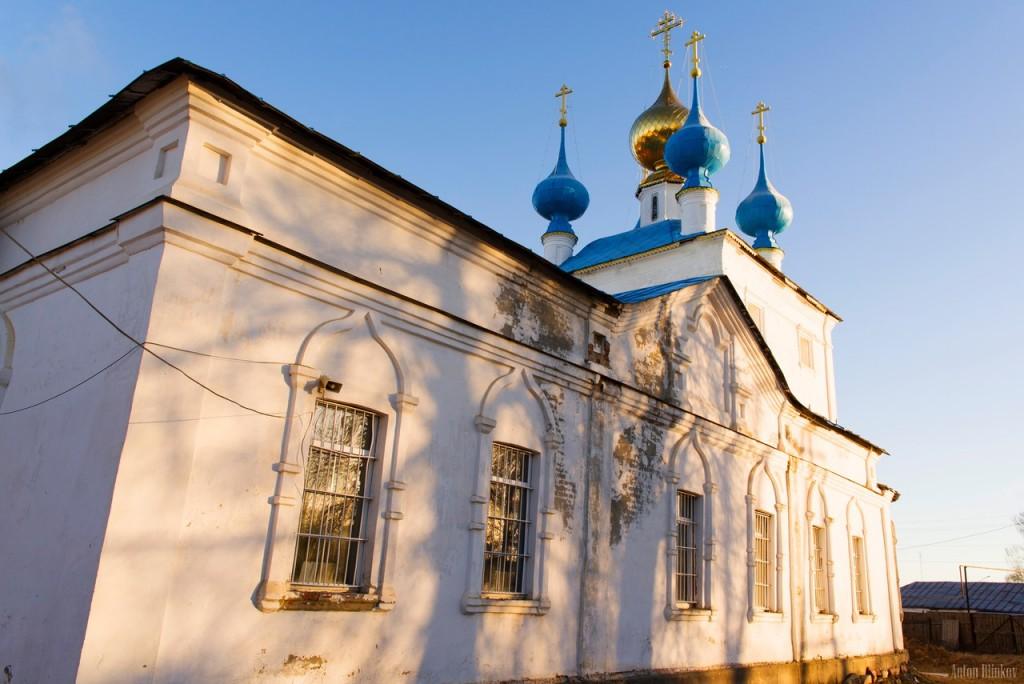 Церковь Успения Пресвятой Богородицы и колокольня в пгт. Ставрово, Собинский р-н. 02