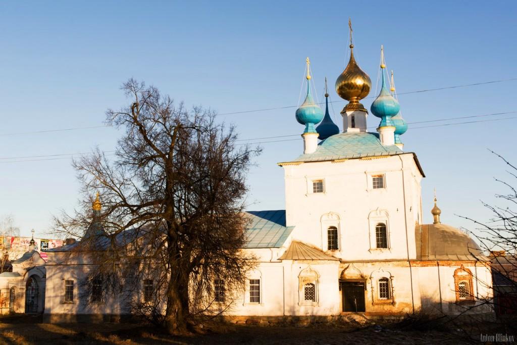 Церковь Успения Пресвятой Богородицы и колокольня в пгт. Ставрово, Собинский р-н. 03