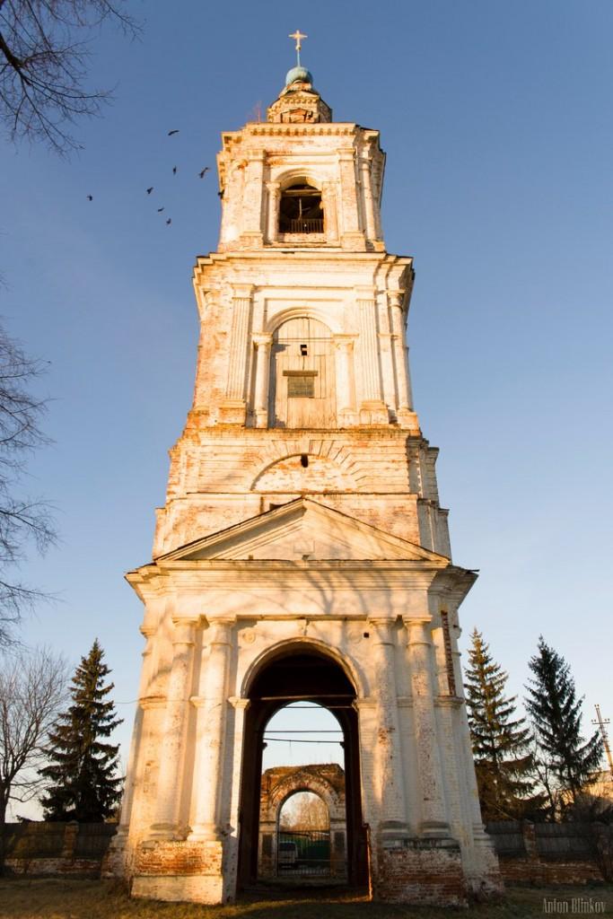 Церковь Успения Пресвятой Богородицы и колокольня в пгт. Ставрово, Собинский р-н. 05
