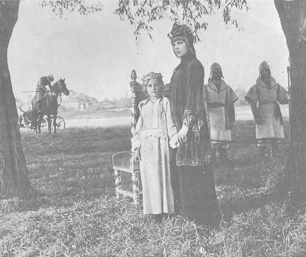 Кадр из фильма-сказки «Осенние колокола»