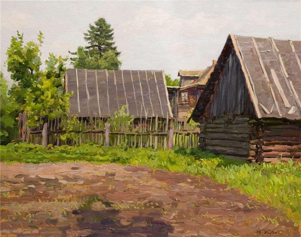 Кугач Юрий Петрович, картины художника из Суздаля 05