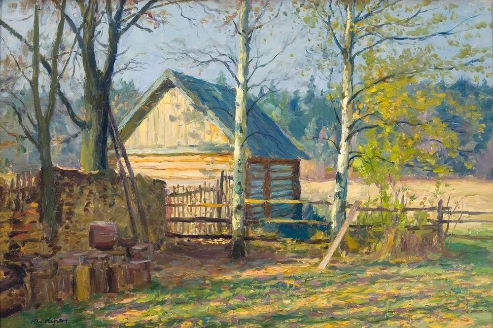 Кугач Юрий Петрович, картины художника из Суздаля 06