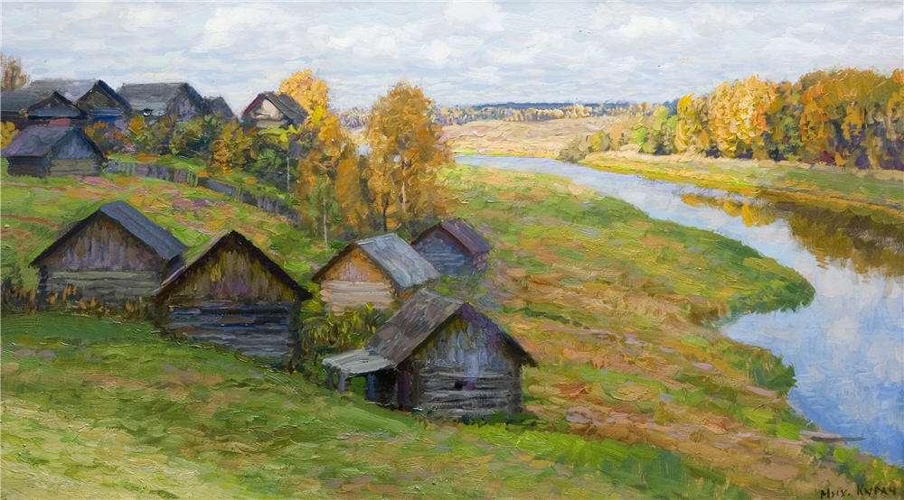 Кугач Юрий Петрович, картины художника из Суздаля 07