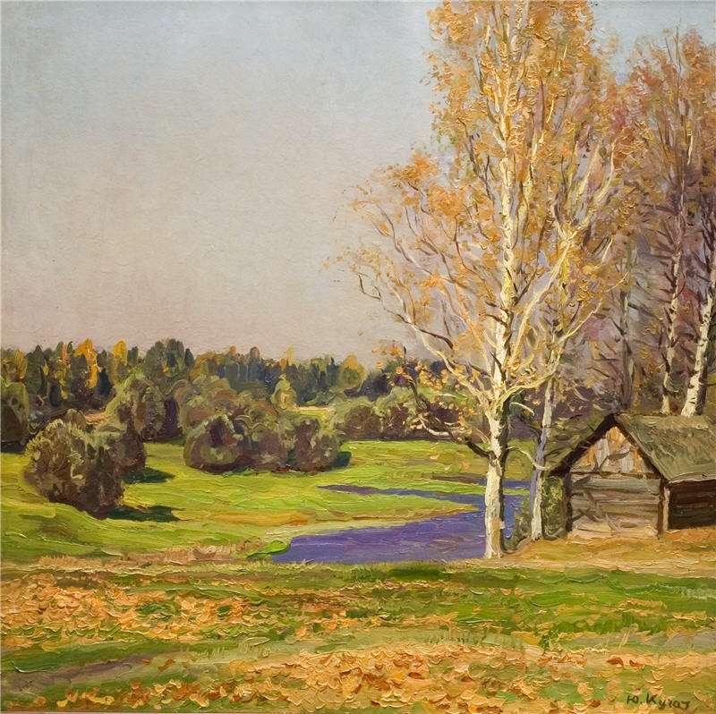 Кугач Юрий Петрович, картины художника из Суздаля 08