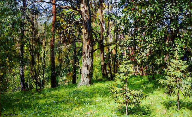 Кугач Юрий Петрович, картины художника из Суздаля 09