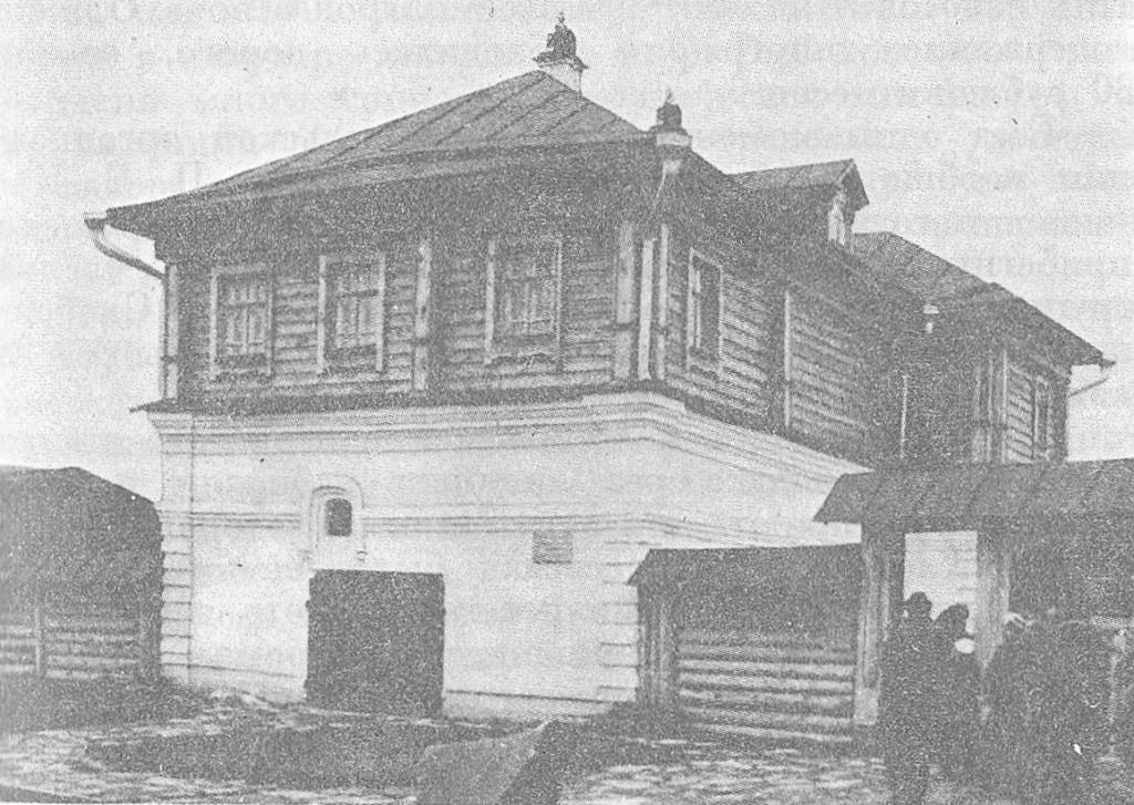 Дом купца Агапова, в котором располагалась подпольная типография Суздальской группы РСДРП