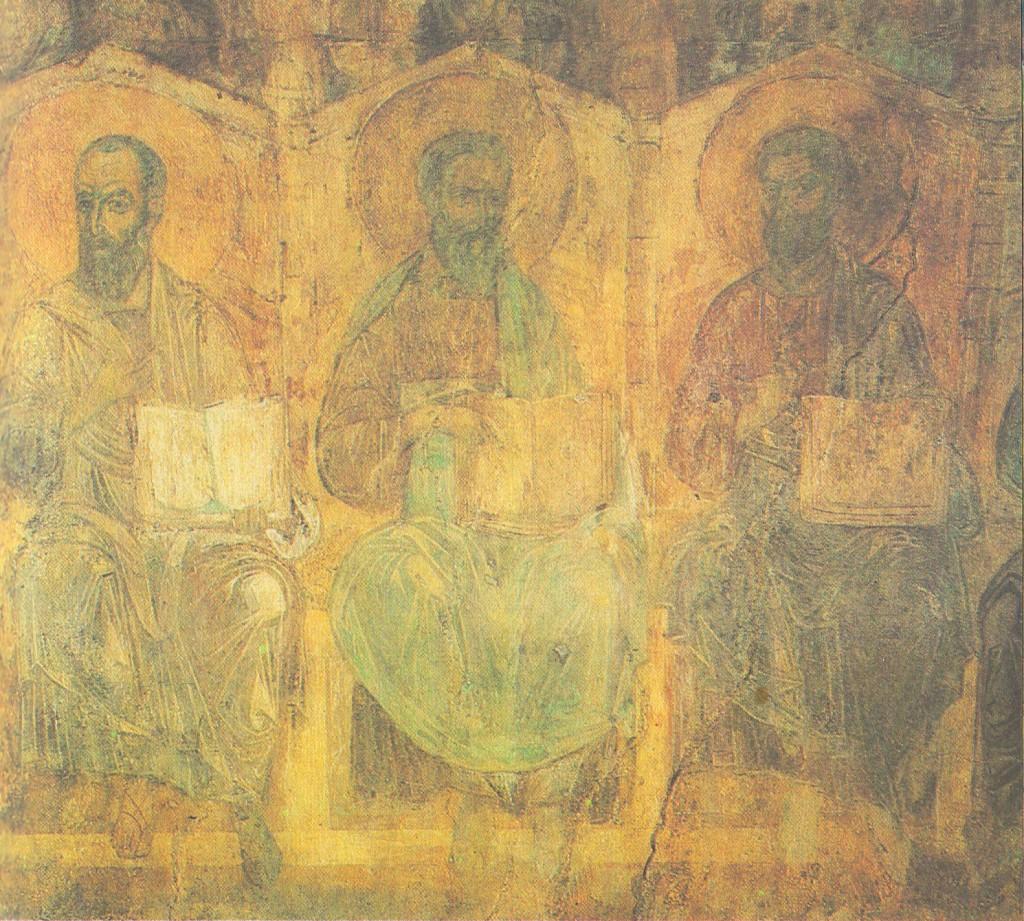 Апостолы Павел, Матфей, Варфоломей