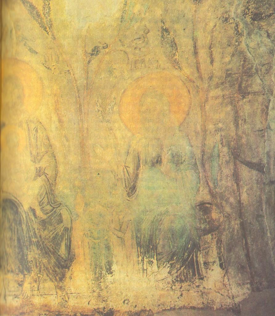Владимирский мастер. Рай Фрески на малом своде под хорами. Около 1195 ч.2