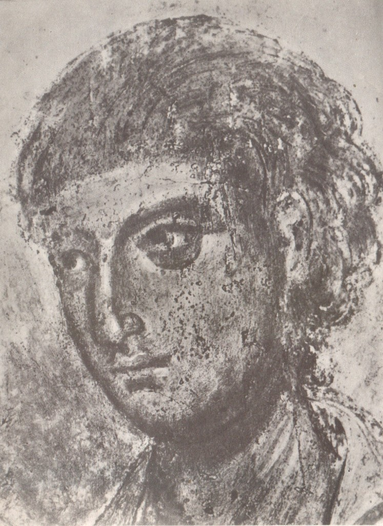 Голова апостола Филиппа Фрагмент композиции