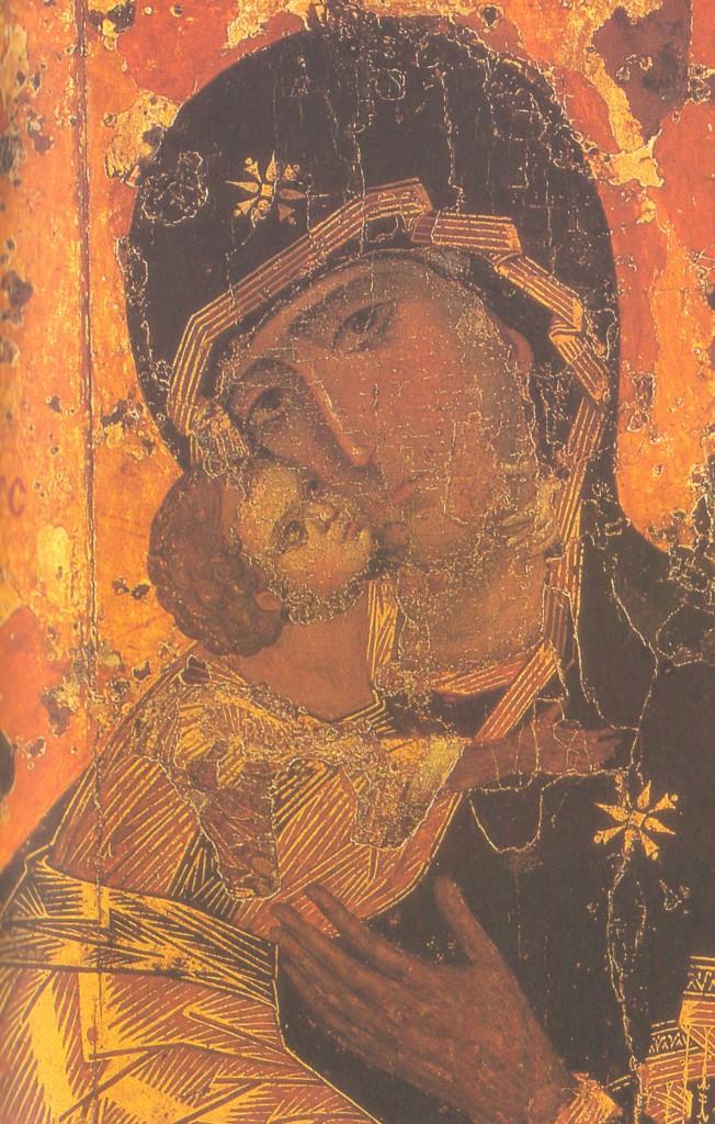Икона Богоматерь Владимирская 2