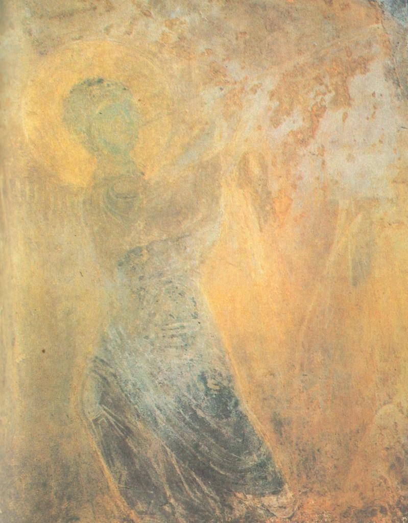 Трубящий ангел Фрагмент композиции «Шествие праведных в рай»