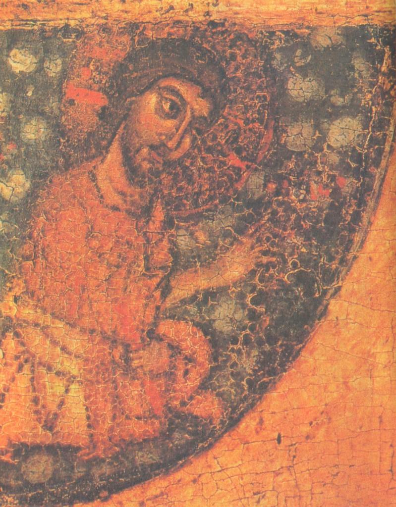 Христос, деталь иконы