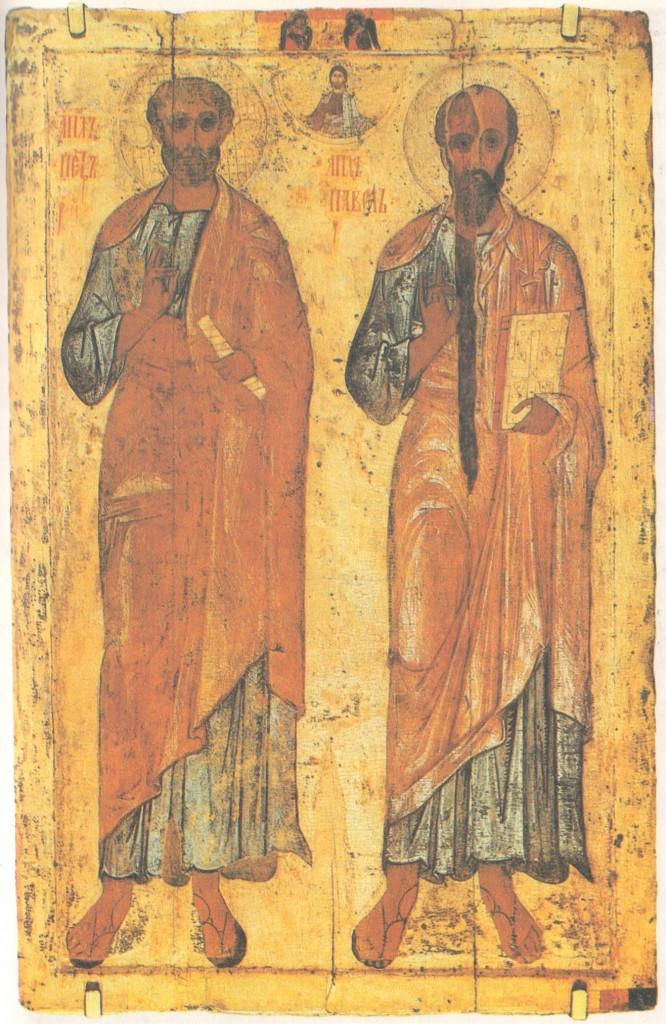 Апостолы Петр и Павел. 1212—1218